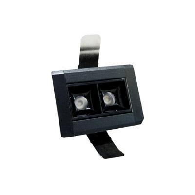 DOWNLIGHT LED BAR 2x3W 30o 3000K 230V IP20
