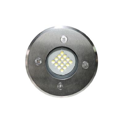 SPOT PV1 16L 1,5W WH 15ο 230VAC INOX