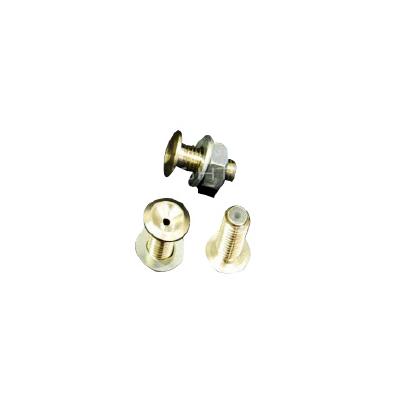 2mm Chrome Fiber brass (pc)