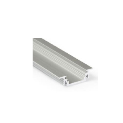 LED PROFILE GROOVE10 BC-UX 24X7mm Anod