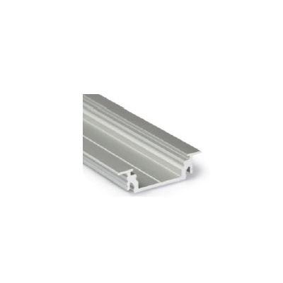 LED PROFILE GROOVE14 EF-Y 28X8mm Anod