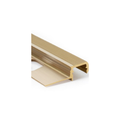 LED PROFILE OUTSTAIRS12 BC 1600 46X15.3mm Brass