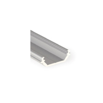LED PROFILE QUARTER10 BD-U6 14.5X14.5mm Anod