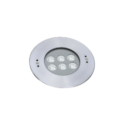 RECESSED LIGHT R180 18,4W 30D 24V RGB IP68INOX316