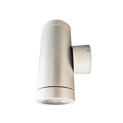 TUBE-2-R60Χ160-GU10-230VAC-ALU-IP65